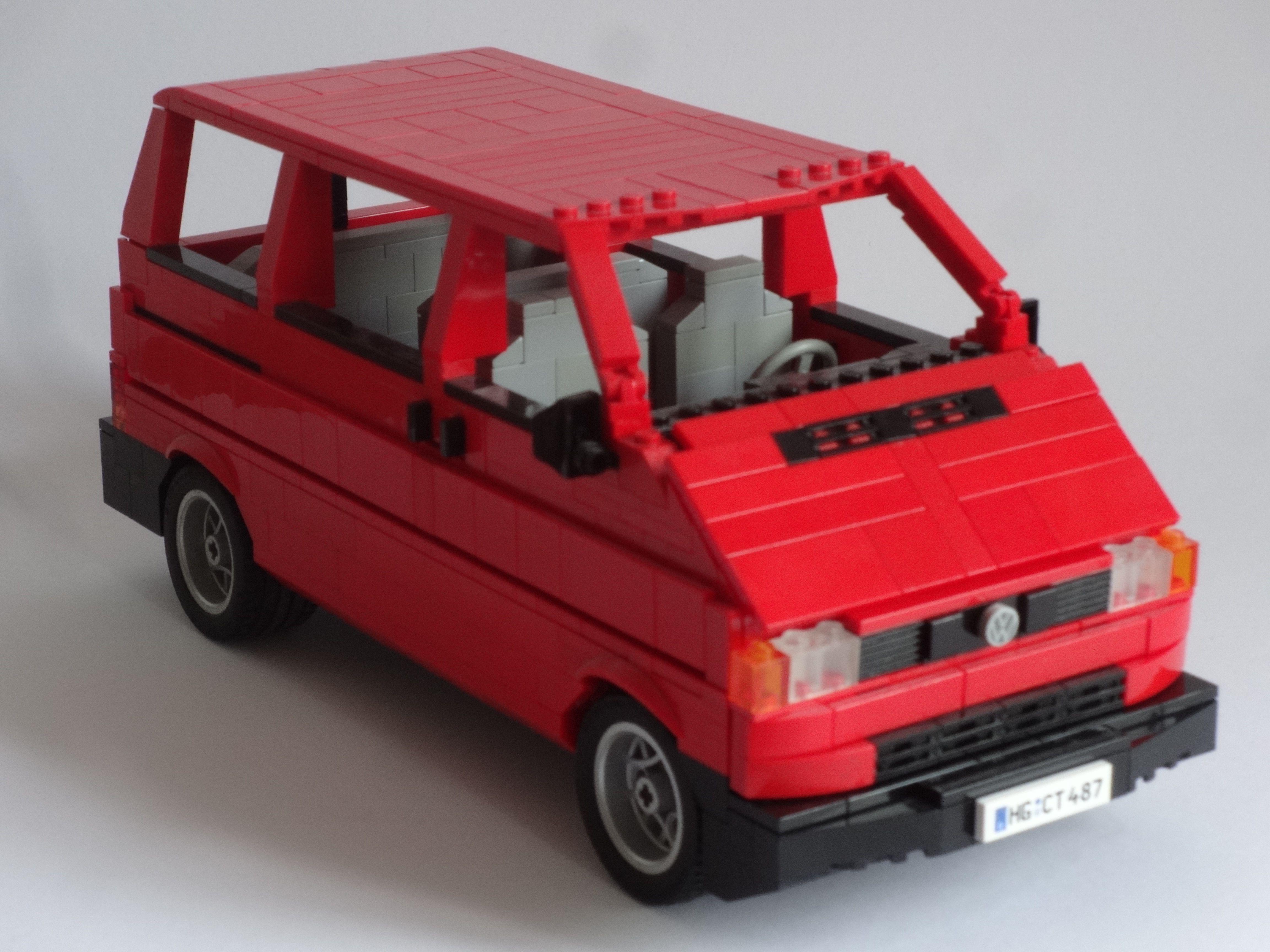 lego vw t4 lego building lego lego toys und lego models. Black Bedroom Furniture Sets. Home Design Ideas
