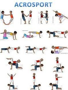 image result for teamwork exercises acrobatic  kids yoga