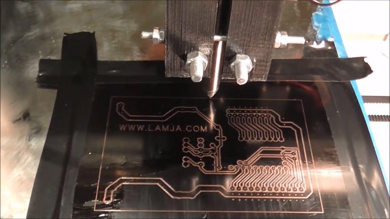 To Make A Printed Circuit Board Using A Diode Laser With A 3d Printer