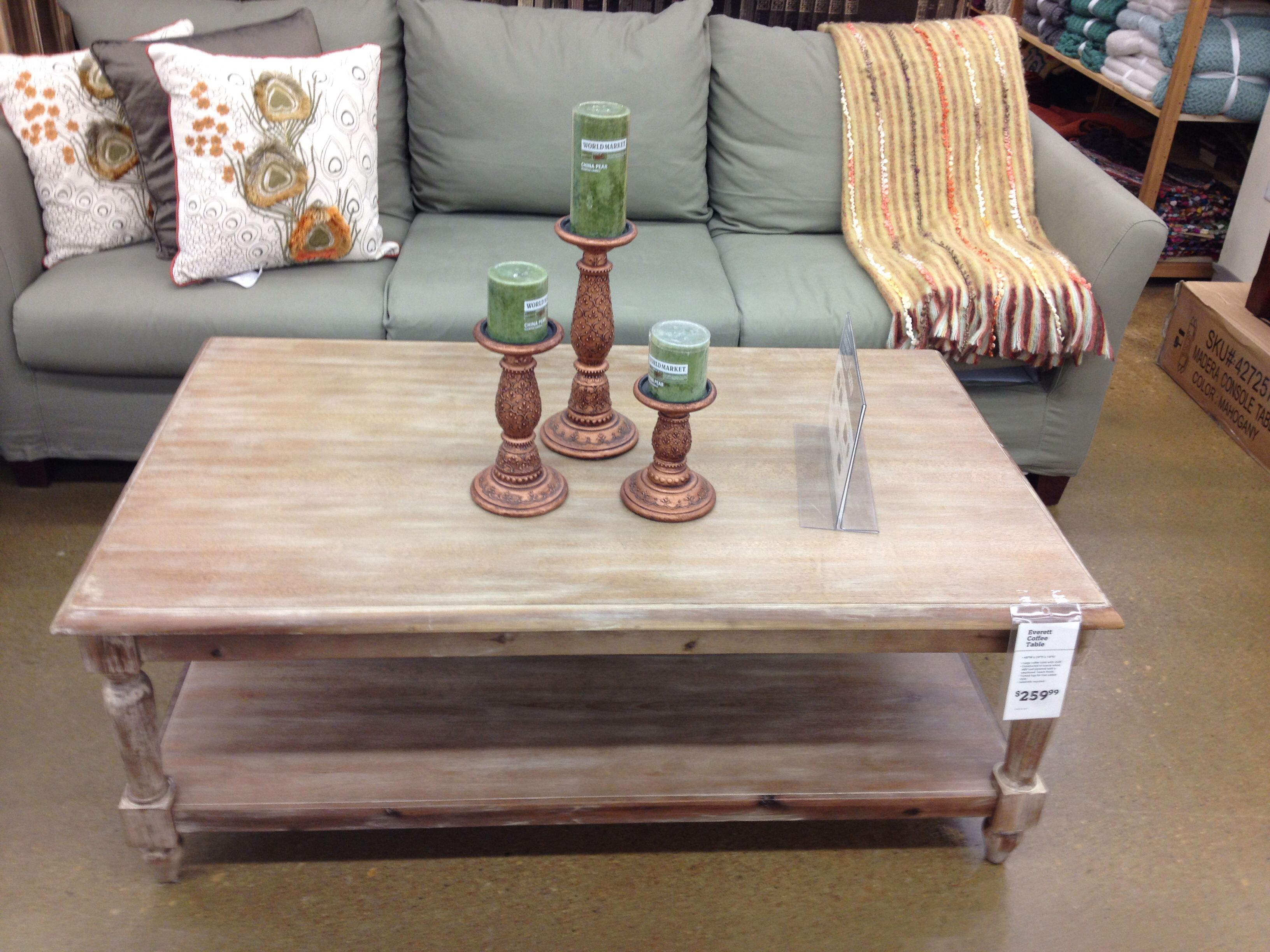 World Market Everett coffee table For the Home