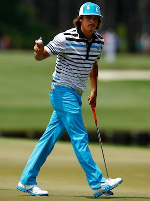Rickie Fowler makes golf cool. puma have a great range of clothes on the market. well worth looking through their range. some quite bright and extravagant and some just plain and simple great gear.