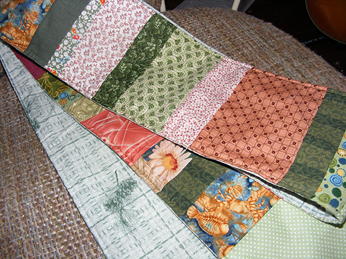 I LOVE QUILTED items...I have an orange one already, any other color(s) would be welcome.