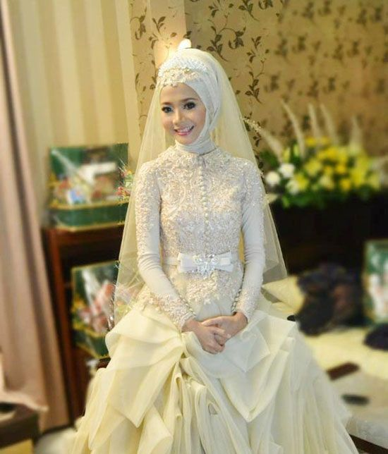 Pin by johns on wedding dress pinterest wedding dress for Muslim wedding dress photo