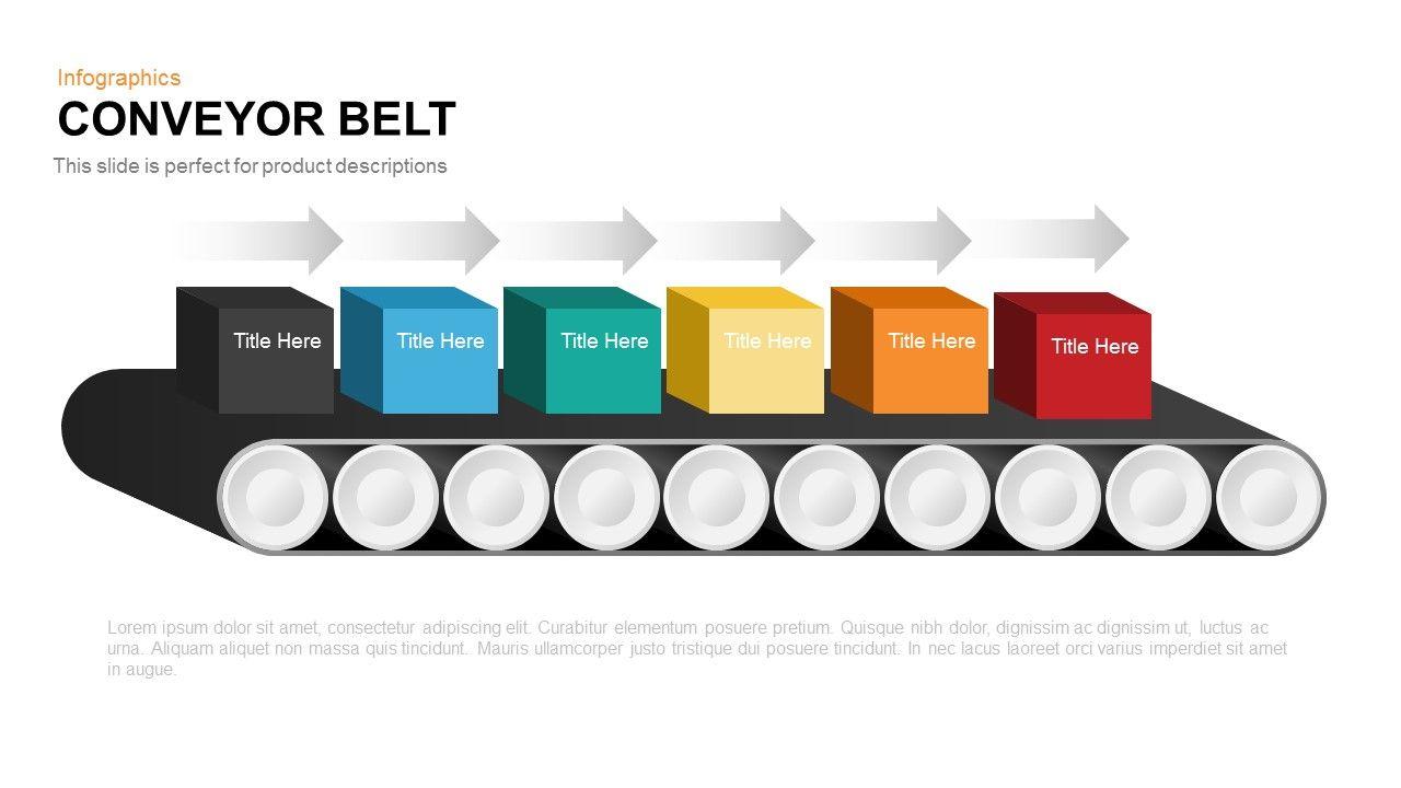 Conveyor Belt Powerpoint And Keynote Template Charts Pinterest Wiring Diagram