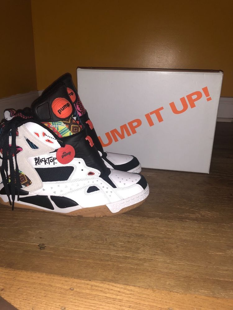 c356fee321c2cb New Reebok Pump Blacktop Battleground Tribal Aztec White Black 14 Men Cant  Jump  fashion  clothing  shoes  accessories  mensshoes  athleticshoes (ebay  link)