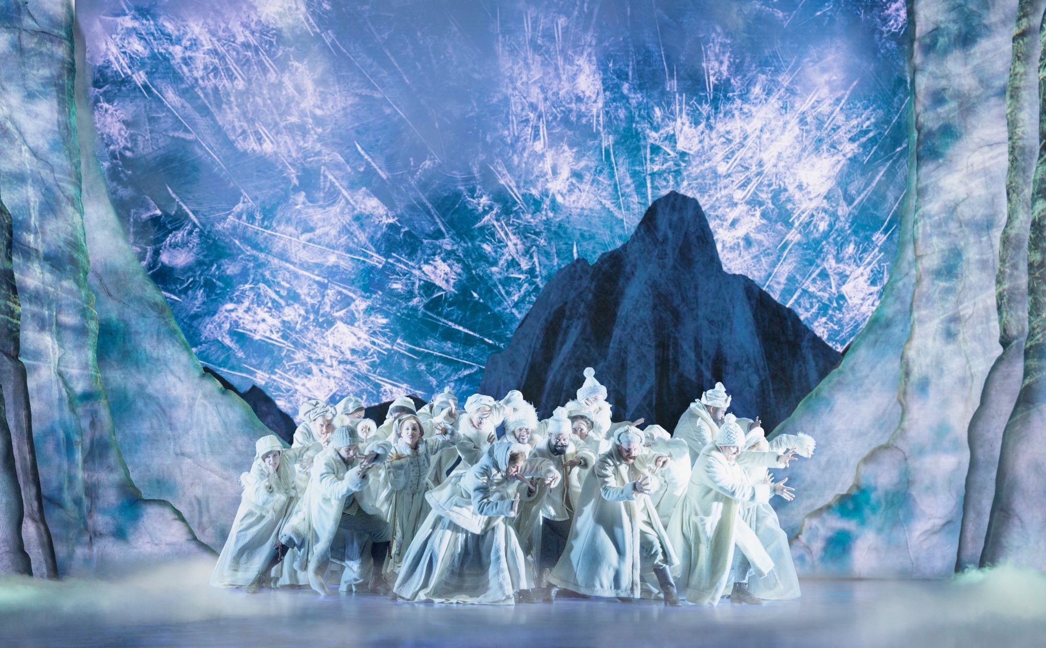 The Cast Of Frozen On Broadway Frozen Musical Frozen On Broadway Frozen Movie