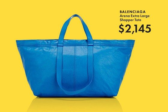 5d2a6d7c8976 The $2,000 Balenciaga Ikea Bag Is Actually Awesome | style 'n such ...