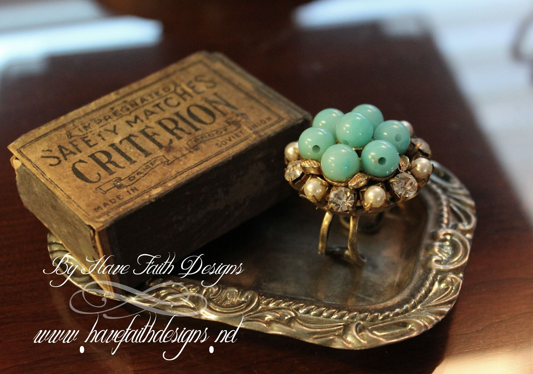 {Mermaids Cove} ring By Have Faith Designs