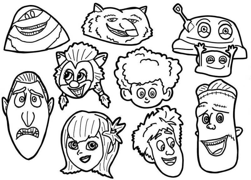 Hotel Transylvania Coloring Pages Best Coloring Pages For Kids Hotel Transylvania Coloring Pages Coloring Pages For Kids