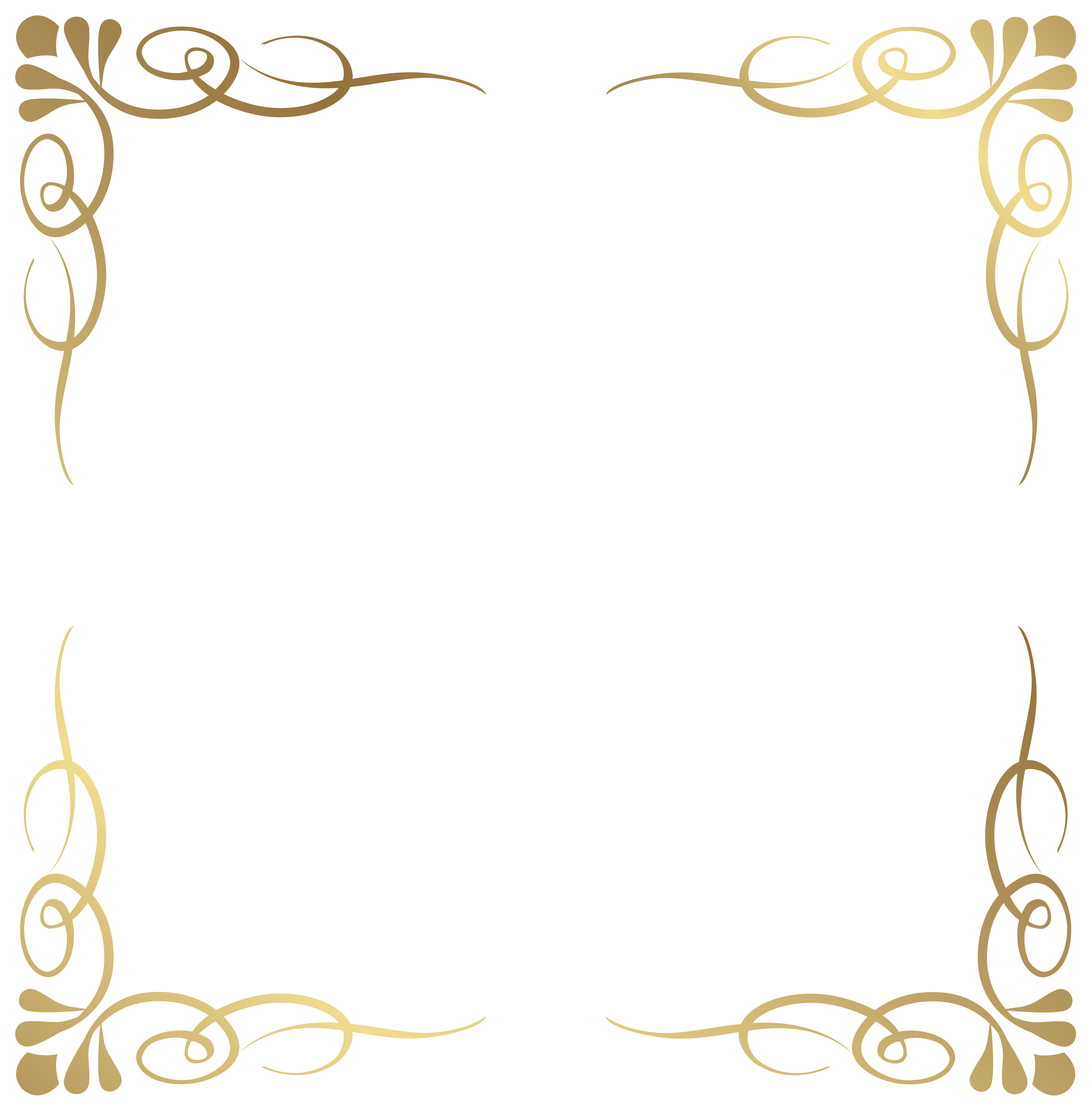 fancy frame border transparent. Transparent Decorative Frame Border PNG Image | Gallery Yopriceville - High-Quality Images And Fancy D