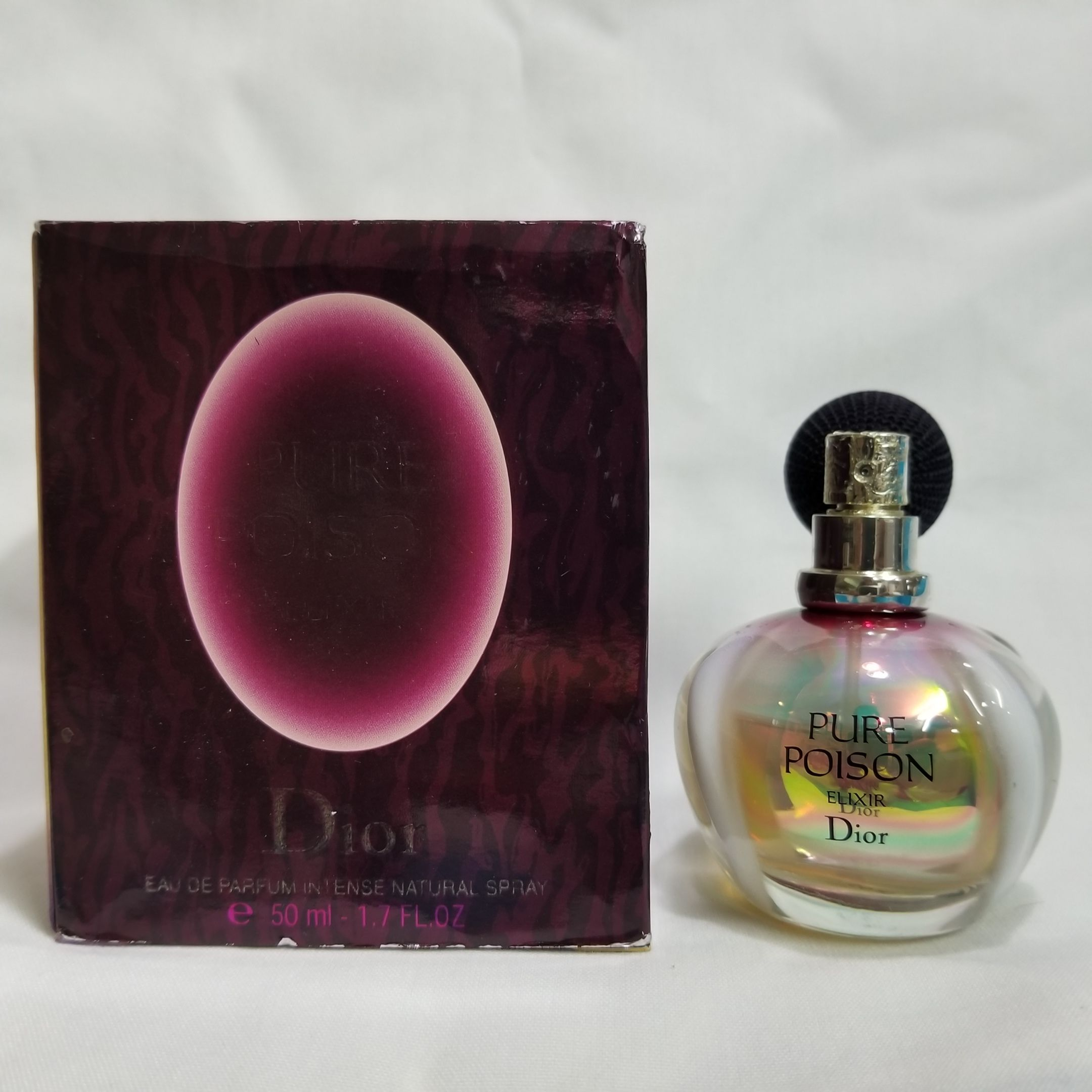 Pin By Om Fragrances On Pure Poison Elixir By Christian Dior 17 Oz