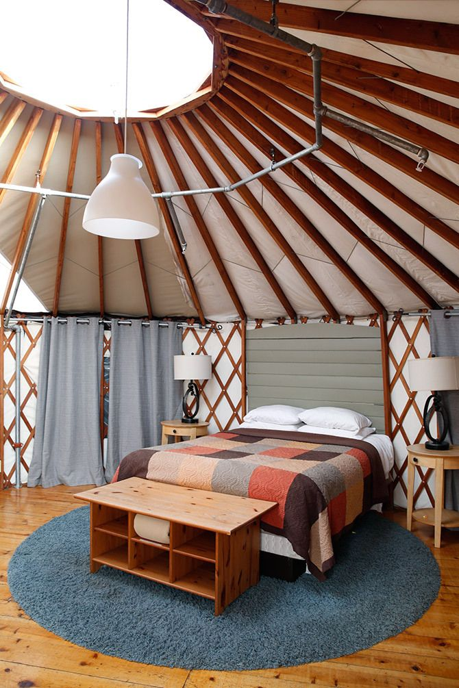 Treebones Resort in Big Sur, CA // via Spotted SF