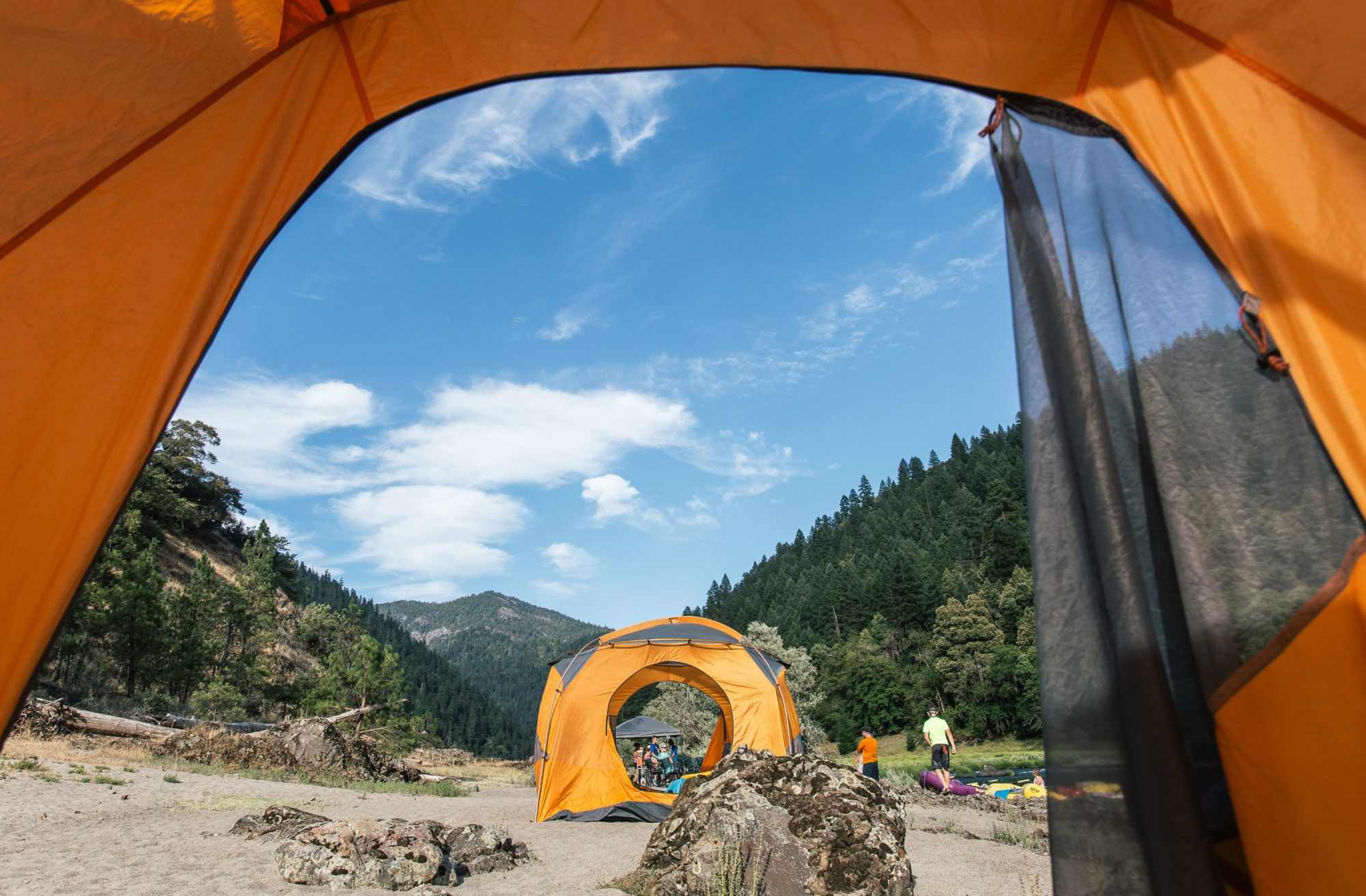 Rogue River (Oregon) rafting & camping multi-day trips ...