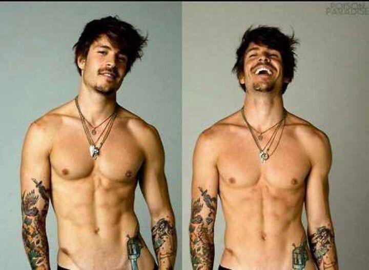 Sexy tattooed men naked
