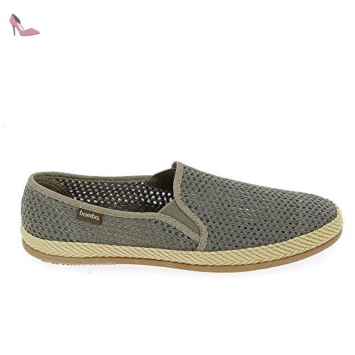 By Espadrille Chaussures 520031 Taupe Victoria Bamba 5vfqHvnA