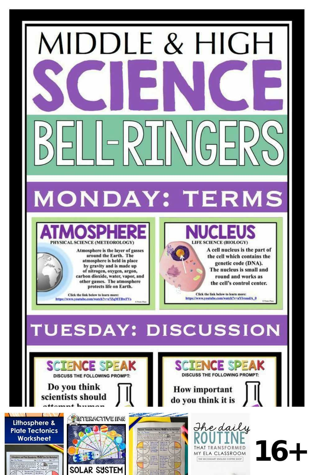 16 Science Worksheets Middle School Ideas