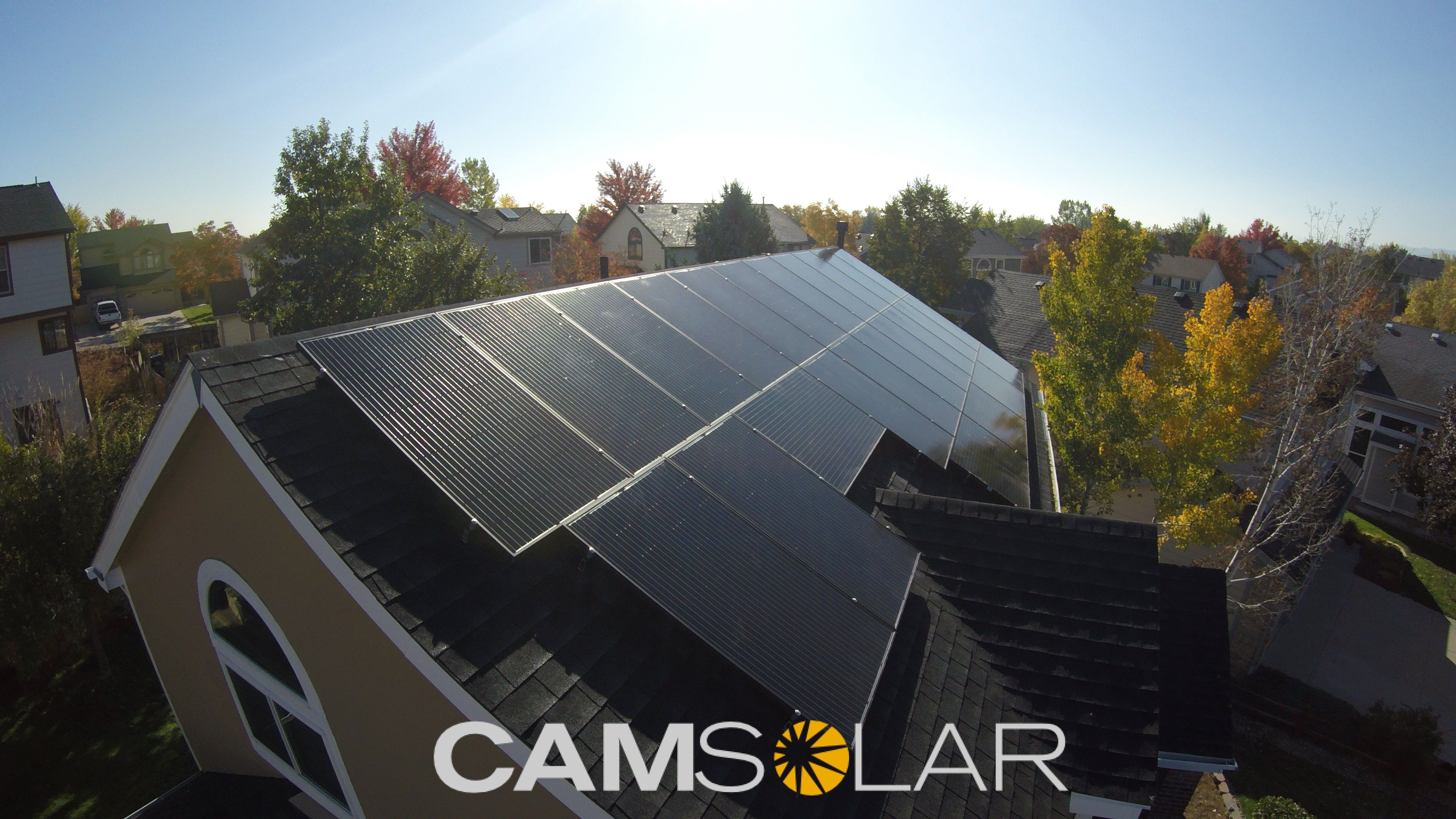 Pin By Cam Solar On Install Photos With Images Solar Installation Solar Roof Solar Panel