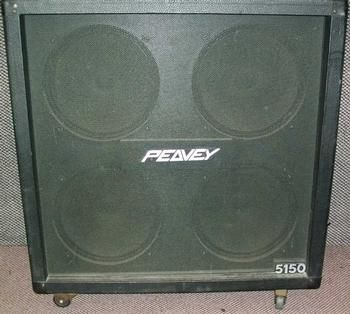 Peavey 5150 4x12, straight cab. have 2 of these things and love ...