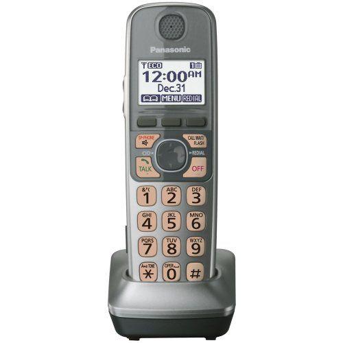 Panasonic Kx Tga470s Extra Handset For Kx Tg77xx Cordless Phones Series Silver Cordless Phone Phone Cordless Telephone