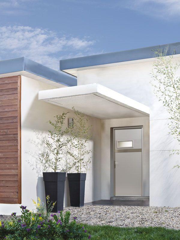 Porte d\u0027entrée Zilten Composite modèle Gibson Front garden - pose d une porte d entree