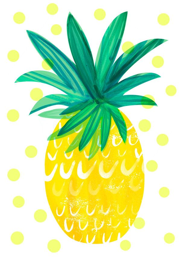 Pineapple | Illustrated yum | Pinterest