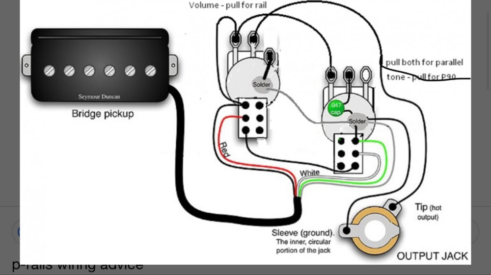 P-rail Wiring Diagram