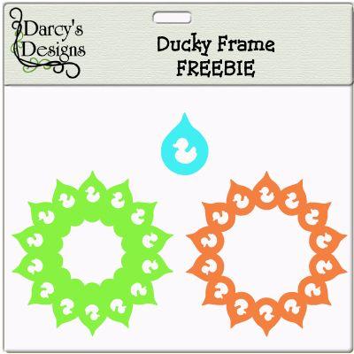 Ducky Freebie Frame