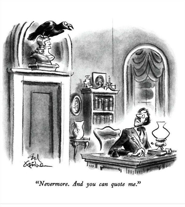 La fuente original del poema de Edgar Allan Poe... Blog