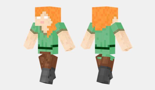 Cómo Instalar Herobrine Alex Skin Para Minecraft Descargar - Minecraft schone holzhauser