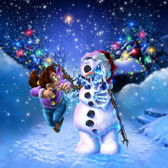 undead snowman