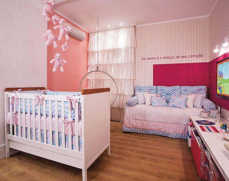 46 quartos de bebê para meninas
