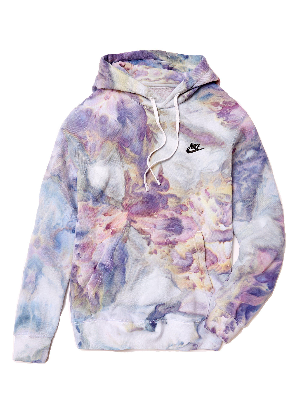 Nike hoodie in pastel tie dye outfits tie dye hoodie