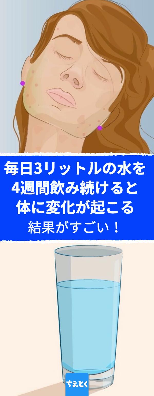 を 肌 水 たくさん 飲む