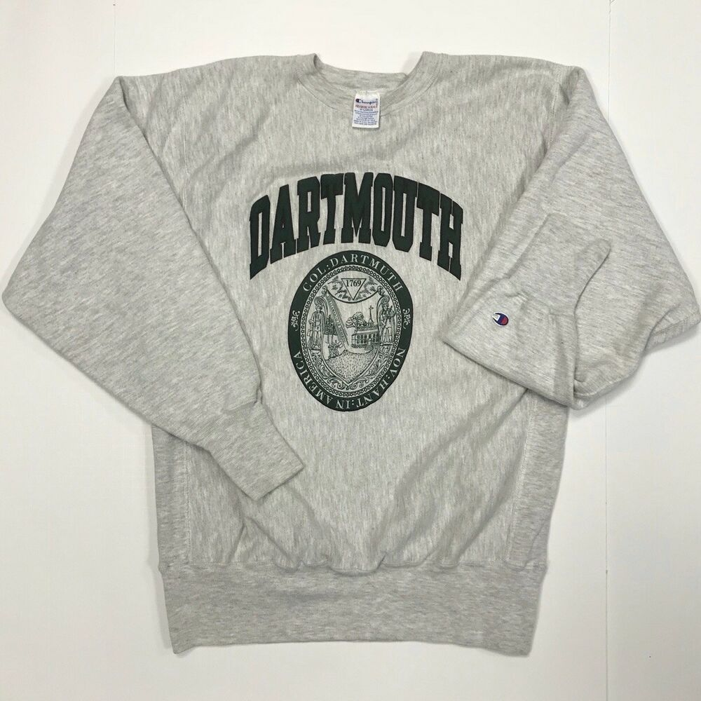 Rare 90s Dartmouth College Champion Reverse Weave Crewneck Sz Xl Made In Usa Vtg Vintage Clothing Men Champion Reverse Weave Champion Reverse Weave Sweatshirt [ 1000 x 1000 Pixel ]