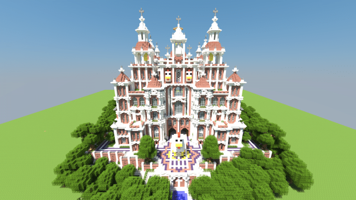 The Great Chicken Cathedral Minecraft Building Inc