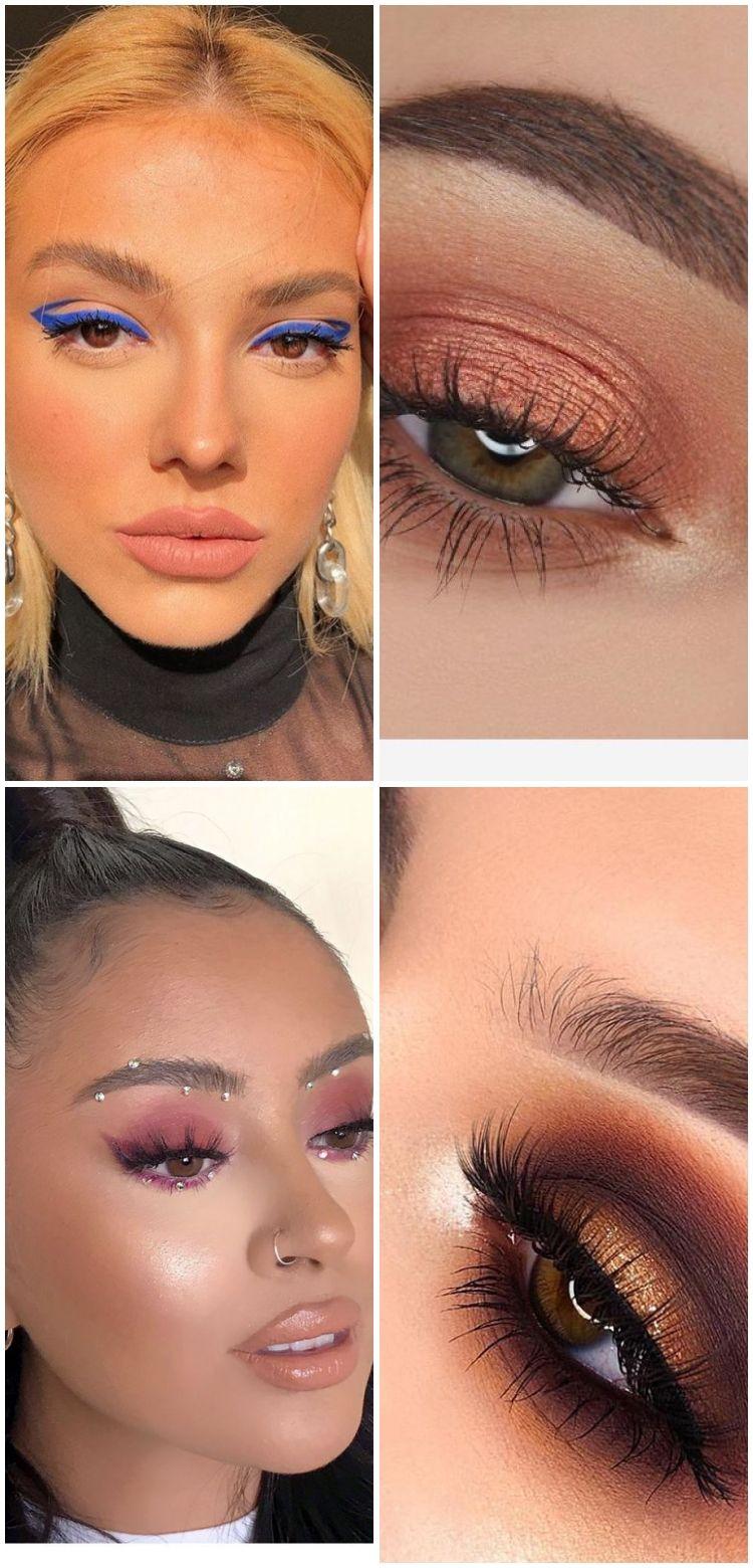 Photo of Piercing and purple eye makeup – Miladies.net