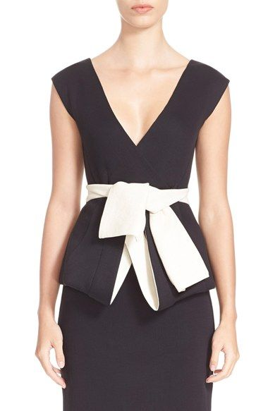Donna KaranNew York Sculpted Jersey Top available at #Nordstrom