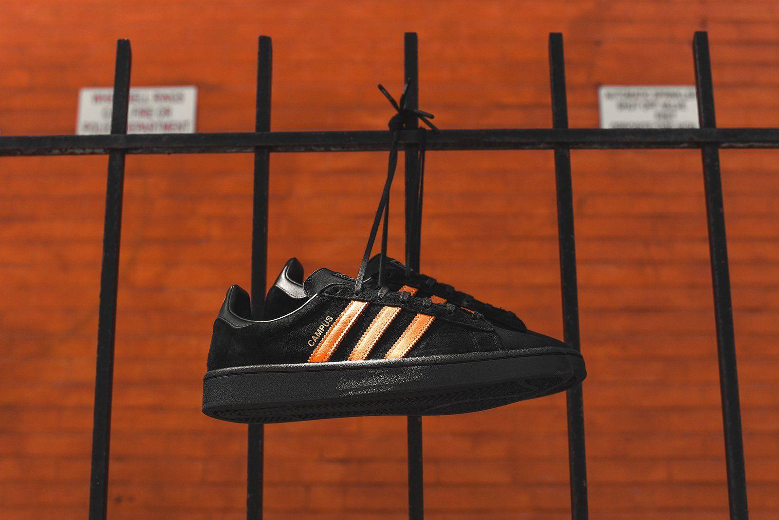 b2f60d995857 adidas Consortium x Porter Campus - Black   Orange - 3 in 2019 ...