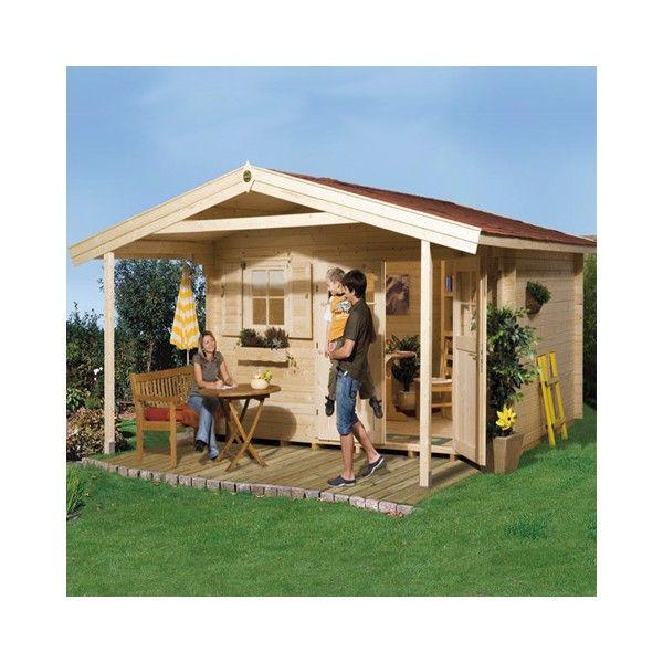 Abri de jardin bois Type 111 28 mm + Plancher - Achat/Vente Abris de ...