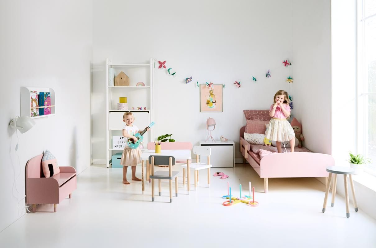 A Bedroom And Play Room Combined Is Nice And Easy With Our Play