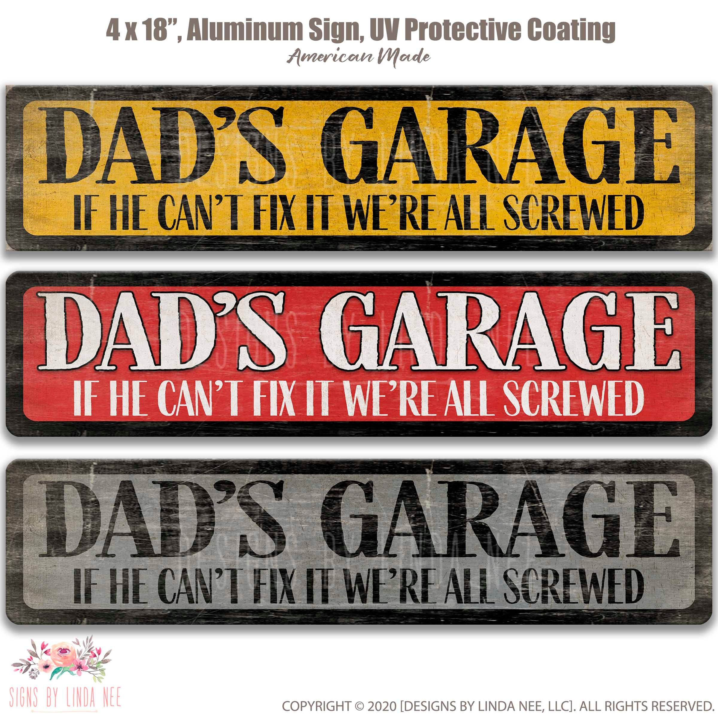 Details about  /A28 Dads Man Cave Father/'s Day wooden sign Plaque Gift laser cut craft sign