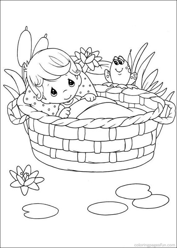 precious moment family coloring pages - photo#24