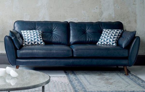 Leather Sofas In A Range Of Styles Dfs Con Immagini