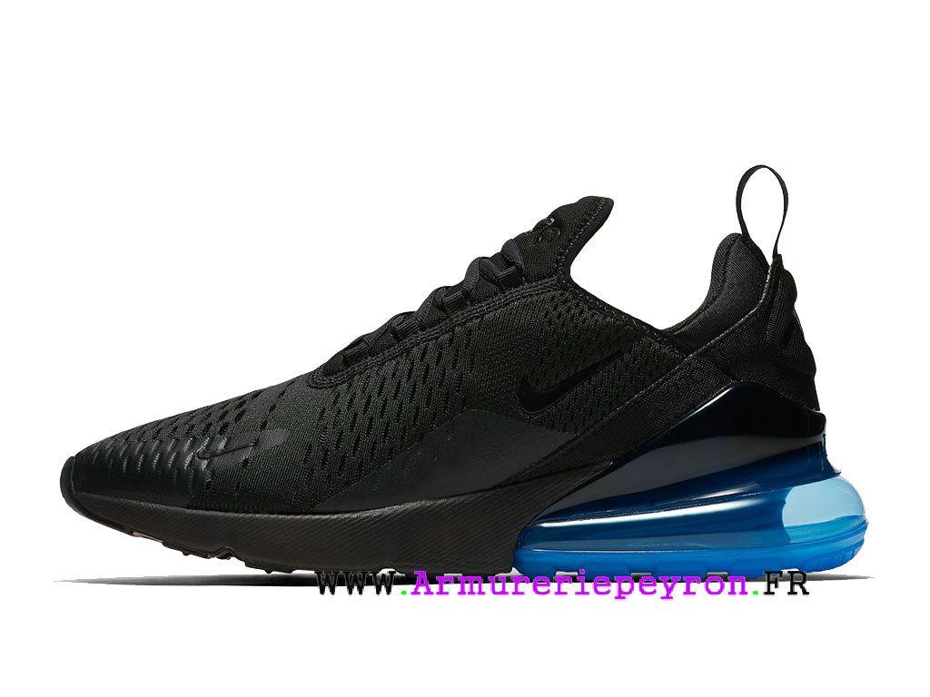 basket nike air max 270 homme running chaussures noir ah8050-009