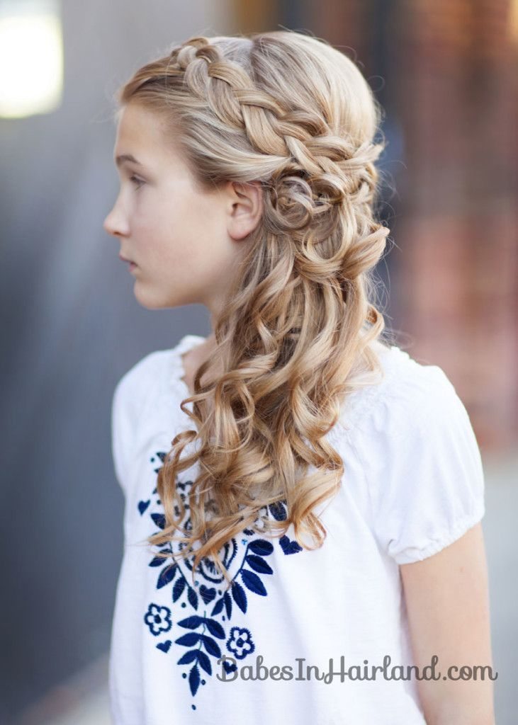 Simple Yet Gorgeous Wedding Hairstyles Flower Girl
