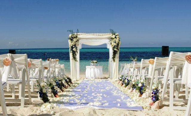Atlantis Destination Wedding Paradise Beach Ceremony