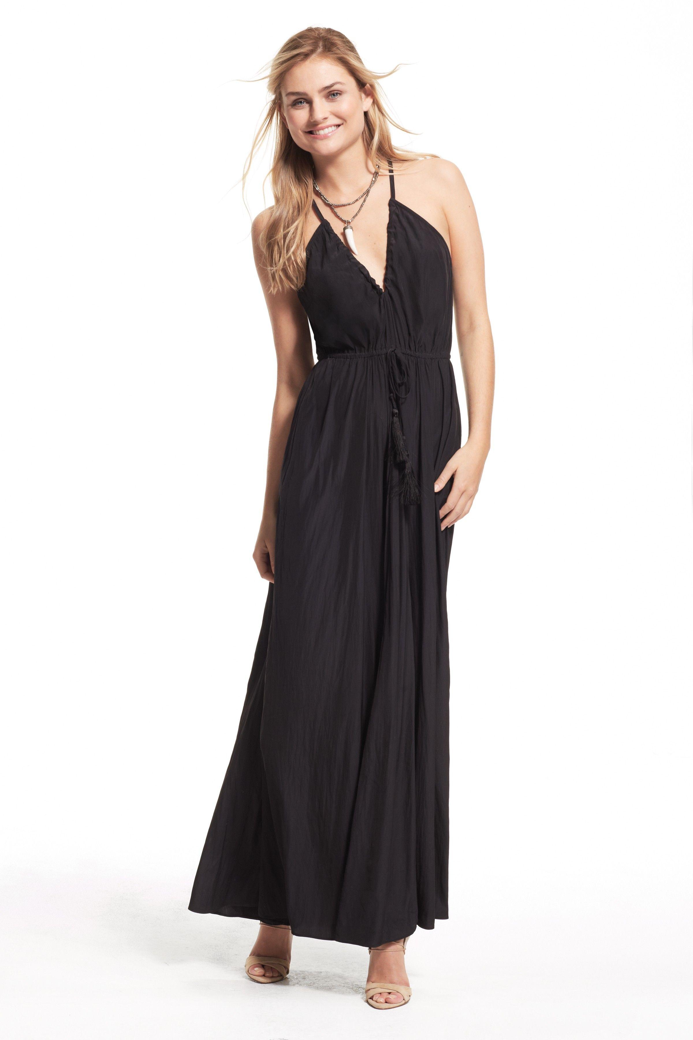 Batinly V-Neck Maxi Dress | Calypso St. Barth