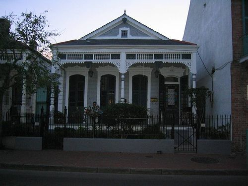 Double shotgun house