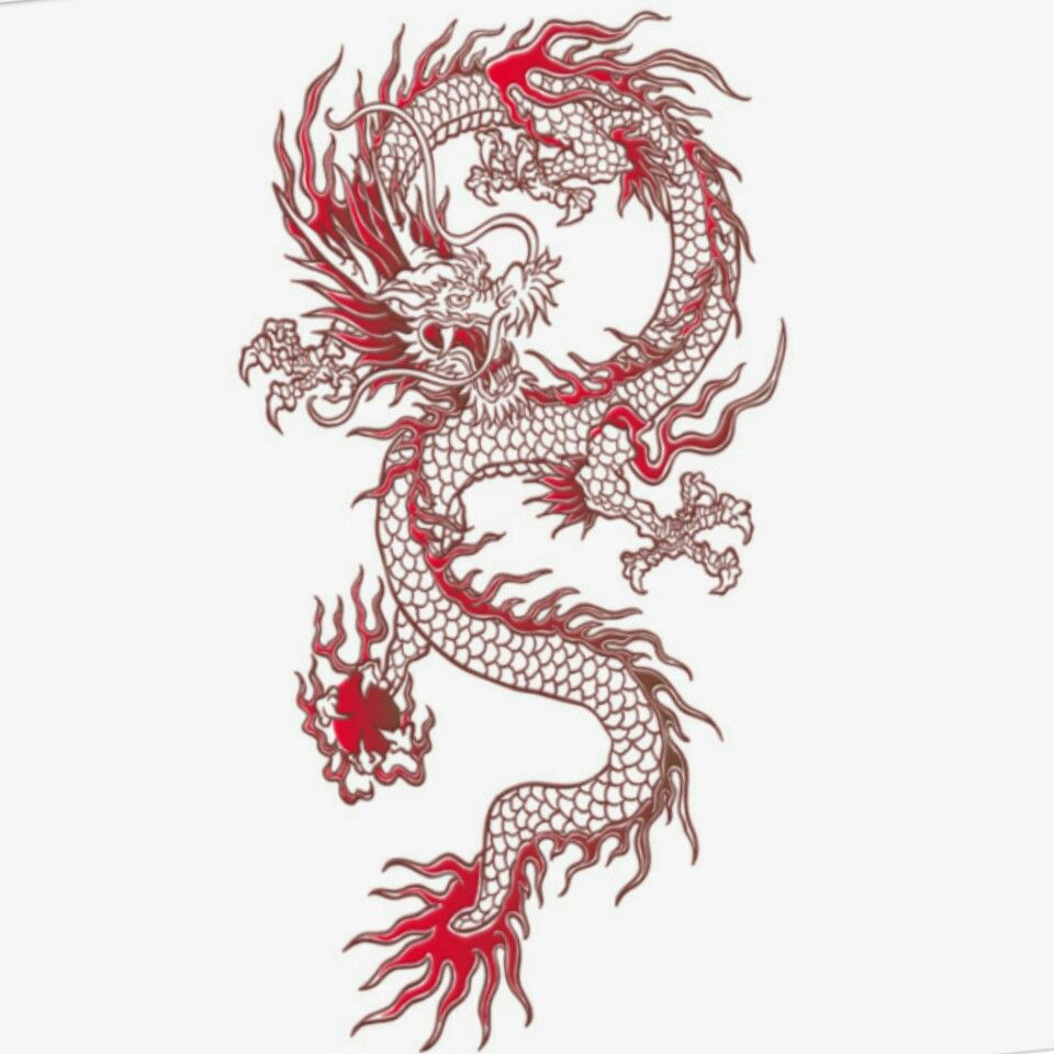 Chinese Dragon Small Dragon Tattoos Chinese Dragon Tattoos Red Dragon Tattoo