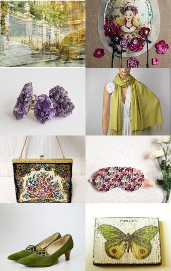 The night hides magic by JULINA on  #etsyfinds #gifts #green